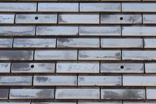 0051:神奈川県立近代美術館鎌倉別館 打ち込みタイル