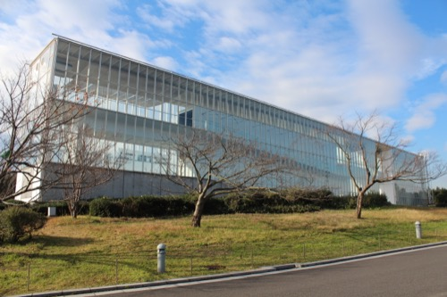 0055:葛西臨海公園レストハウス 北東からの建物全景