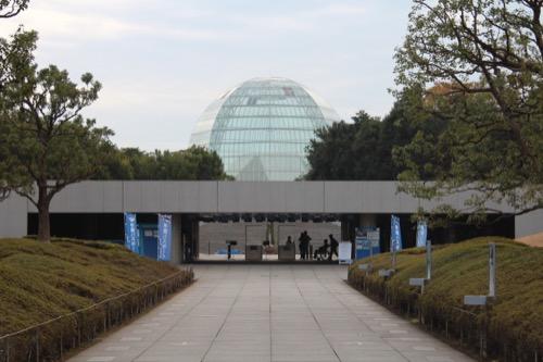 0056:葛西臨海水族園 チケット売り場へのアプローチ