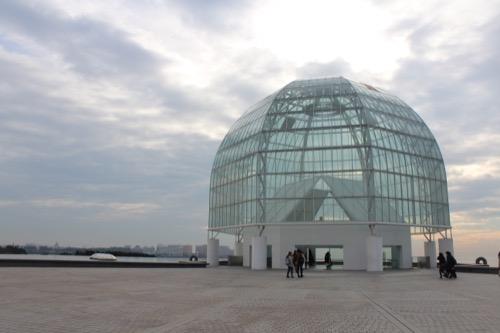 0056:葛西臨海水族園 入口ドーム外観②