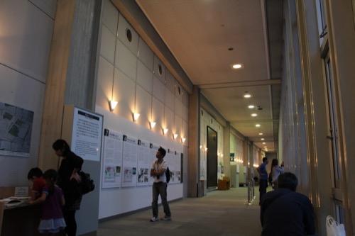 0061:広島平和記念資料館 ルーバー部分の内観②