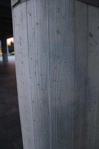 0061:広島平和記念資料館 木枠で造成されたRC