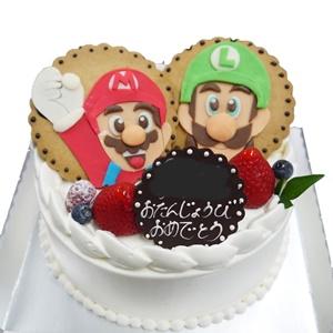 キャラデコケーキ2個のせ