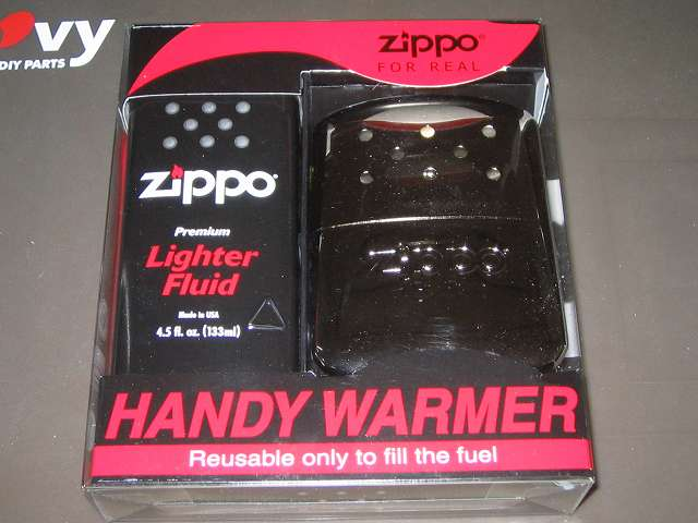 Zippo ハンディウォーマー & オイルセット ZHW-JF パッケージ表面