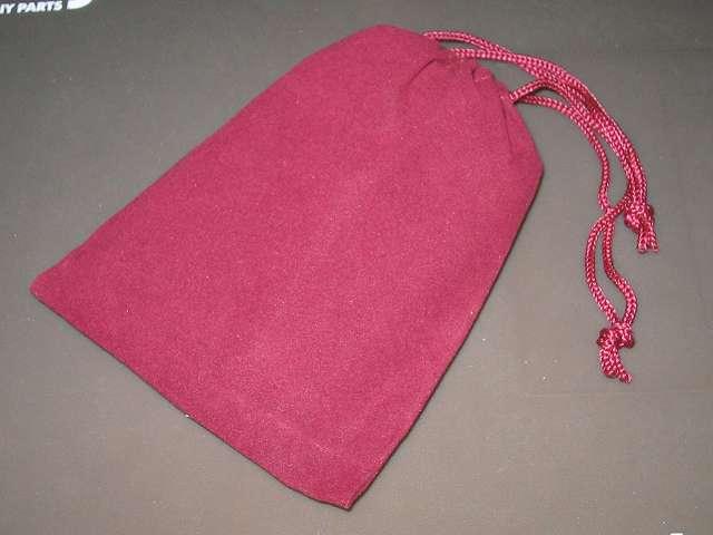 専用フリース袋に入れたハンディウォーマーを巾着袋に収納したところ