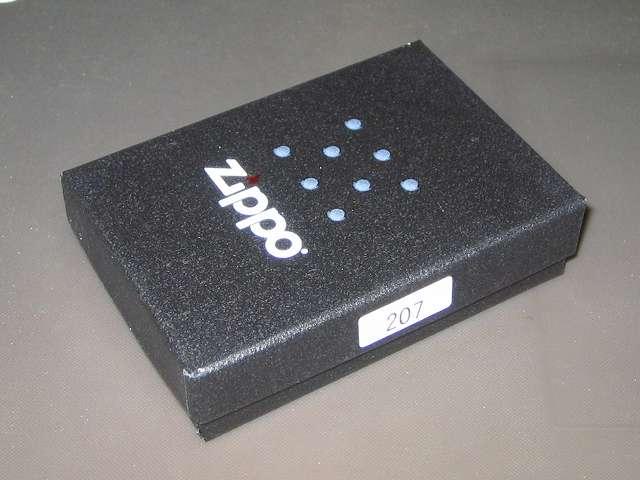 Zippo ジッポー スタンダード クローム バレル仕上げ 207 購入