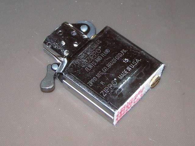 Zippo ジッポー スタンダード クローム バレル仕上げ 207 インサイドユニット