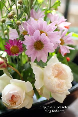 お正月の花1