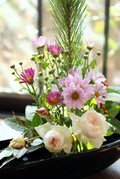 お正月の花2