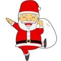 メリークリスマス-サンタクロース