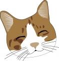 ネコ(笑顔2