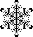 冬(雪の結晶