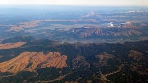 阿蘇カルデラ外輪山
