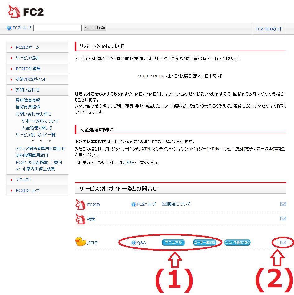 3FC2ブログの記事保存が反映されない場合の対処法
