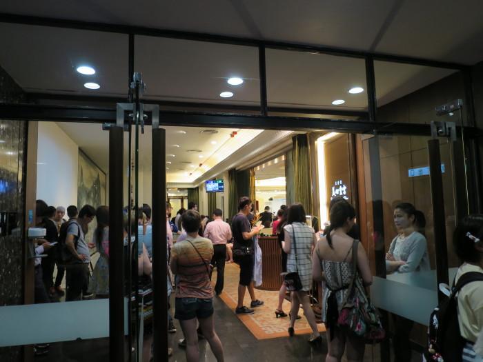 香港 ワゴン飲茶