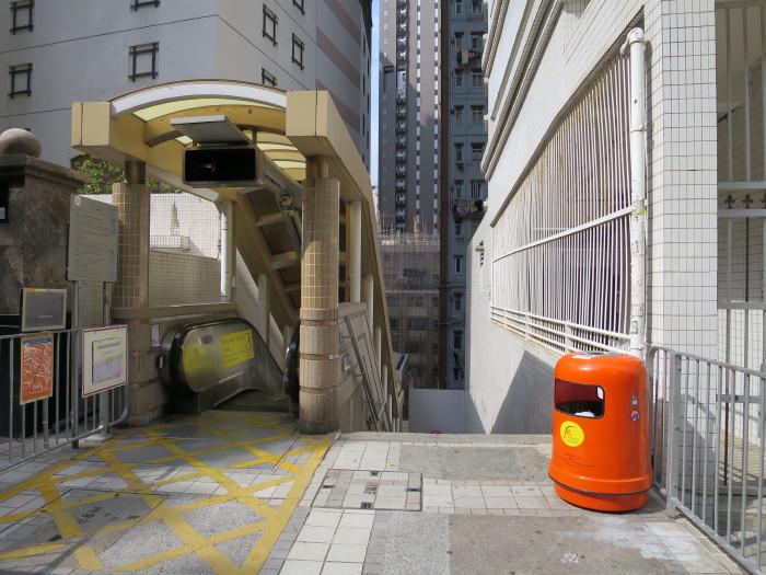 ミッドレベル・エスカレーター 香港 世界一
