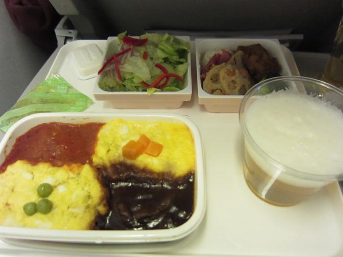 JAL10 機内食