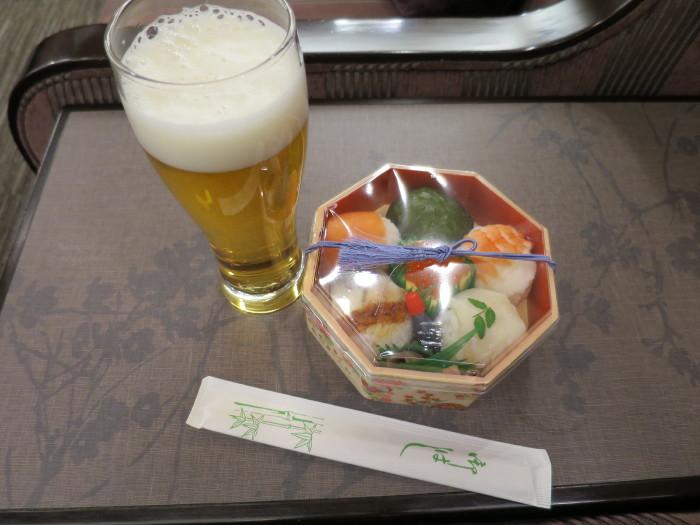 伊丹空港 手毬寿司 ほてい寿し 空弁
