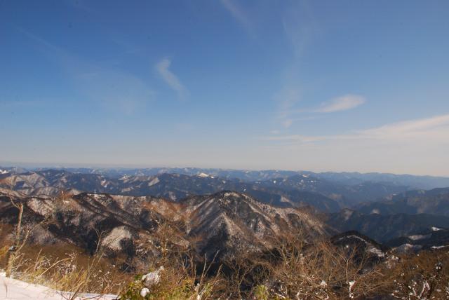 暁晴山と段ヶ峰