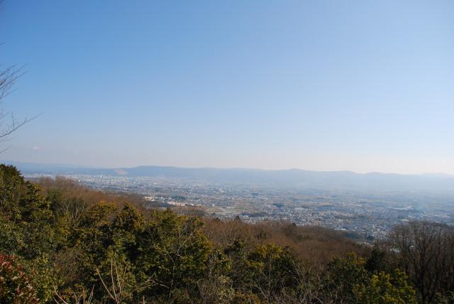国見台の展望台からの眺め_北方面
