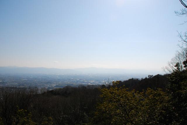 国見台の展望台からの眺め_南方面