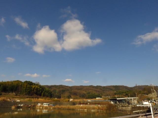 矢田丘陵の山並み