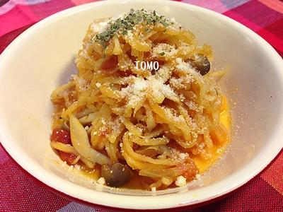 作り置きに♪切り干し大根とトマト缶とツナ缶 で煮物