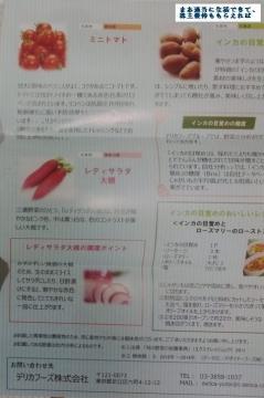 デリカフーズ 野菜詰め合わせ04 201509