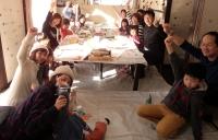工作イベント講習お正月飾りの会 こども絵画造形教室キッズ・アトリエ西東京市 武蔵野市