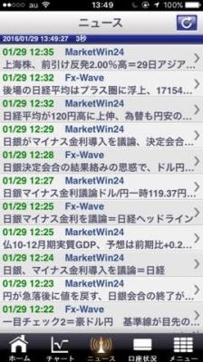 日銀マイナス金利FXブロードネットスマホアプリ