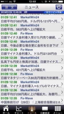 日銀マイナス金利FXブロードネットスマホアプリ2