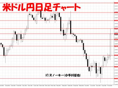 20160130米ドル円日足