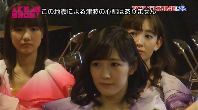 AKB48SHOW!20116.0109「NHK紅白歌合戦の裏側」【まゆゆ】