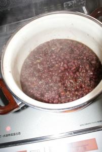 160106ぜんざいの小豆2
