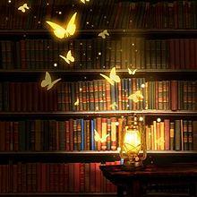 図書館の蝶