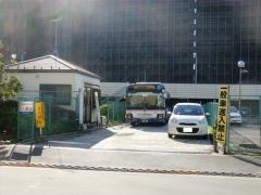 江戸川清掃工場操車場