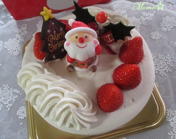 白 十字 クリスマス ケーキ