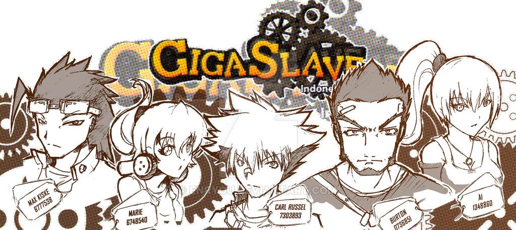 基本プレイ無料の2D横スクロールアクションシューティングゲーム 『GIGA SLAVE(ギガスレイブ)』