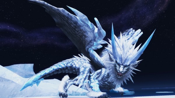 ハンティングファンタジーオンラインゲーム『モンスターハンターフロンティアG』 氷界にて発見されし氷の始種「凍王龍トア・テスカトラ」の情報を公開いしたよ