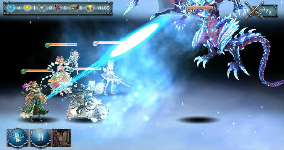 基本プレイ無料のブラウザファンタジーゲーム『少女とドラゴン』 氷点下の暴帝ヴァーレンハイトが現れる神話クエストを公開