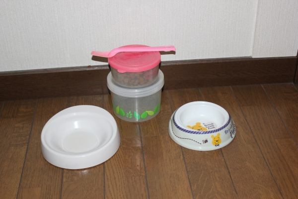 しろちゃんのお茶碗