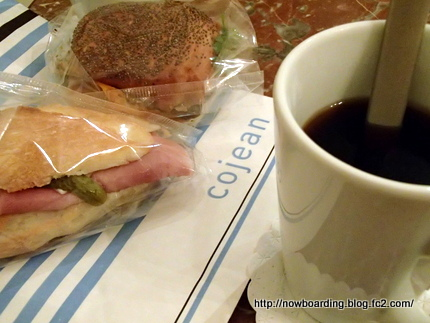 パリ サンドイッチ コーヒー