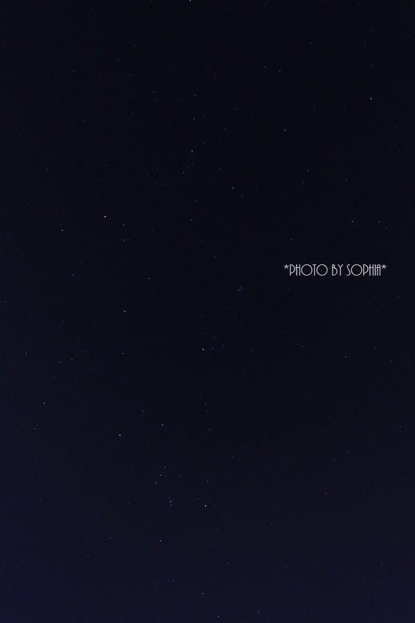 オリオンと星々
