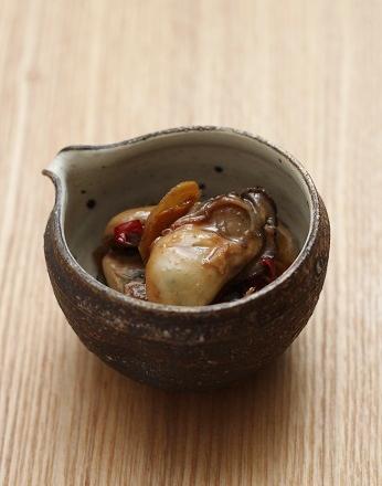 牡蠣の時雨煮