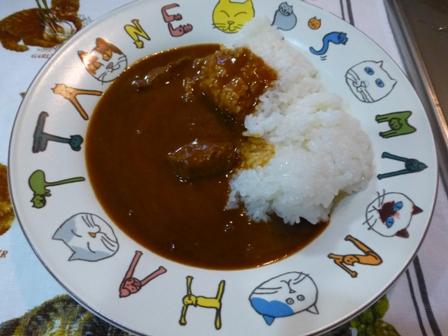 柿安豚角煮カレー6