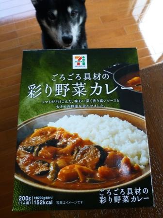 ごろごろ具材の彩り野菜カレー1