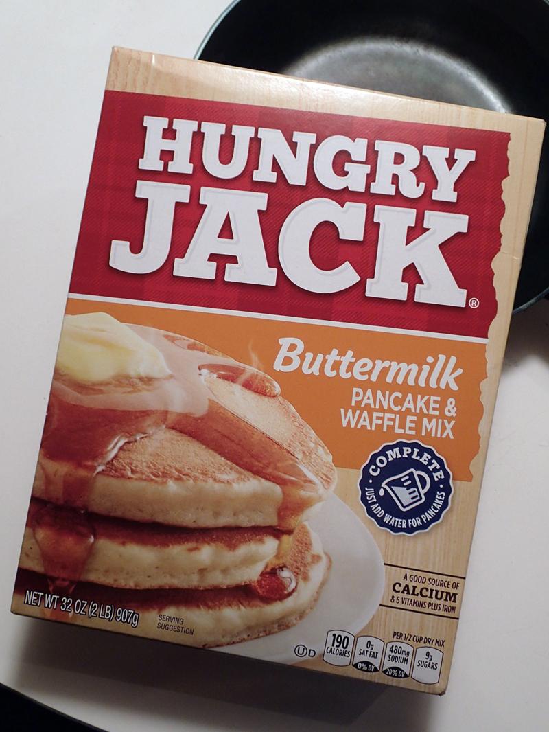 まいにち使うもの:HUNGRY JACKのパンケーキミックス