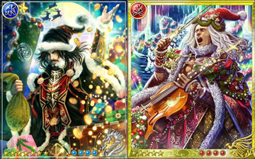 戦国炎舞でクリスマス