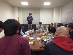 新代表の山田さんの挨拶も