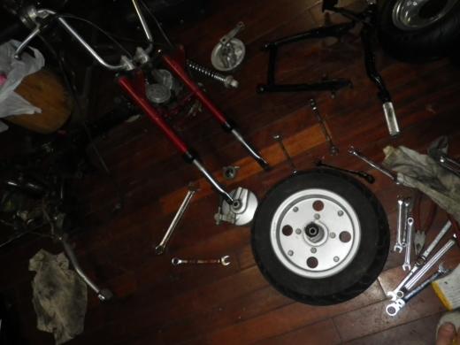 タイヤが>< (3)